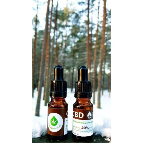 CBD Aliejus 20% 10ml (2000mg)