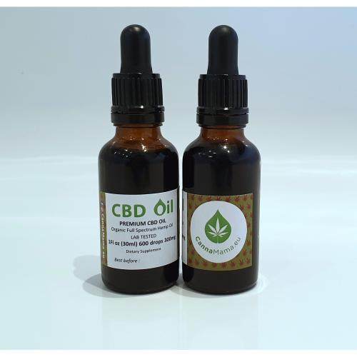 CBD Aliejus 30 ml 300mg