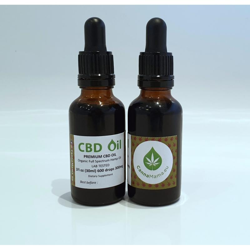 CBD Oil 30ml (1Fl oz) 300mg